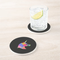 Autism Support Cute Autism Unicorn Gift Coaster