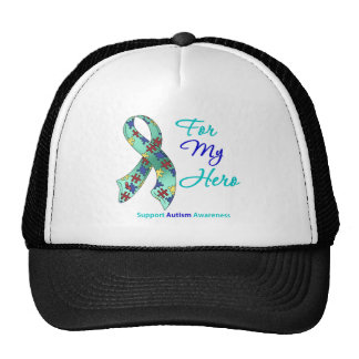 Autism Support For My Hero Trucker Hat