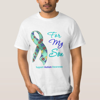 Autism Support For My Son T Shirt