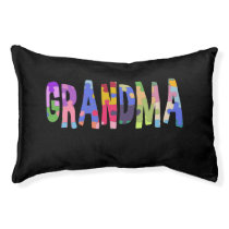 Autism Support Grandma Autism Pet Bed