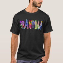 Autism Support Grandma Autism T-Shirt