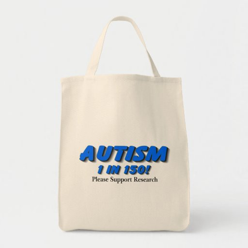 Autism Support Research Canvas Bags