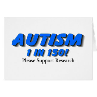 Autism Support Research Card
