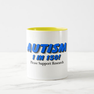 Autism Support Research Two-Tone Coffee Mug