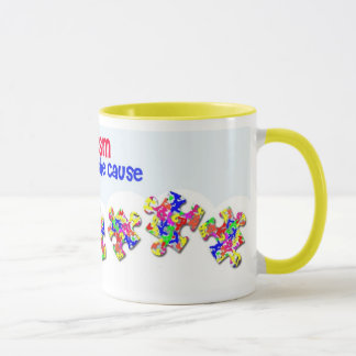 Autism - Support the Cause Mug