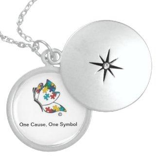 Autism Symbol Locket