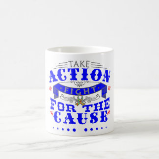 Autism Take Action Fight For The Cause Mug