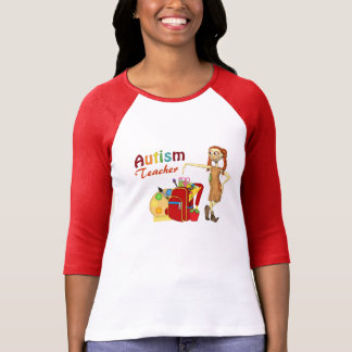 Autism Teacher#2  Ringer Tee