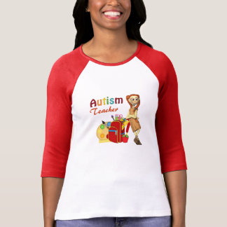Autism Teacher#3  Ringer Tee