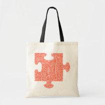 teacher, education, school, children, autism, tote, tote-bag, Bag with custom graphic design