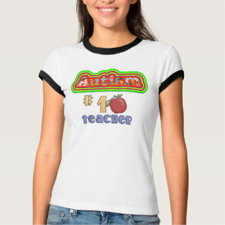 Autism Teacher Ringer Tee