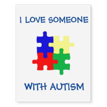 Autism Temporary Tattoos