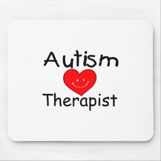 Autism Therapist (Heart) Mouse Mats