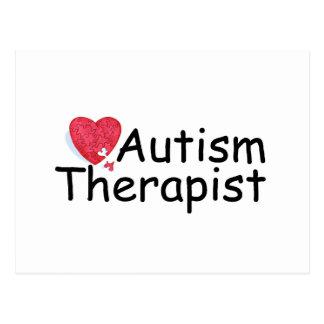 Autism Therapist (Hrt Puzzle) Postcard