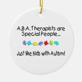 Autism Therapist Christmas Ornaments