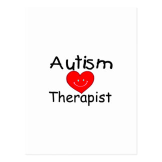 Autism Therapist (Smiley Hrt) Postcard