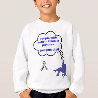 Autism/Think in Pictures Sweatshirt