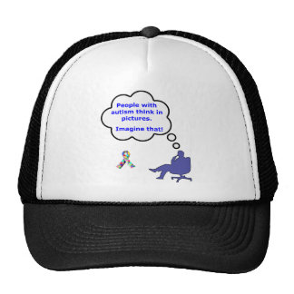Autism/Think in Pictures Trucker Hat