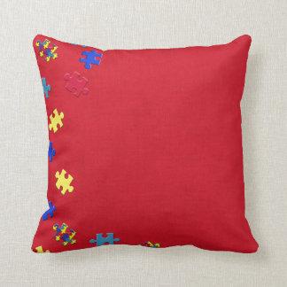 Autism Throw Pillows