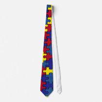 Autism Tie