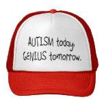 Autism Today Genius Tomorrow Hat