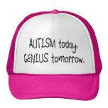 Autism Today Genius Tomorrow Trucker Hat
