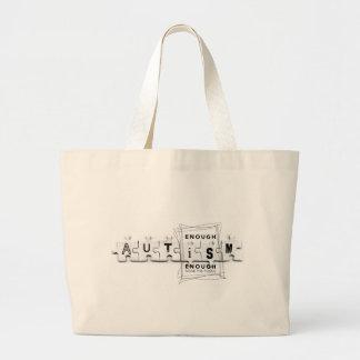 Autism Tote Jumbo Tote Bag