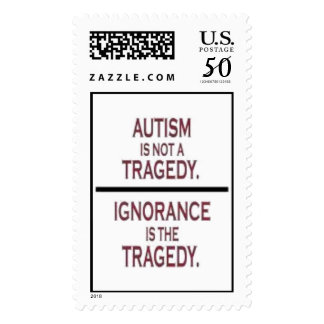 """Autism Tragedy"" Postage"