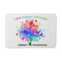 Autism Tree in Spectrum Bath Mat