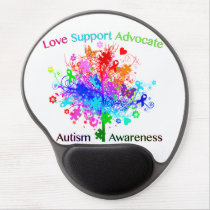 Autism Tree in Spectrum Gel Mouse Pad