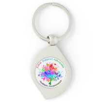 Autism Tree in Spectrum Keychain