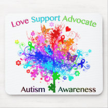Autism Tree in Spectrum Mouse Pad