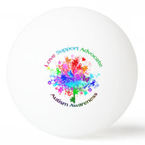 Autism Tree in Spectrum Ping-Pong Ball