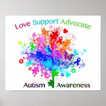Autism Tree in Spectrum Poster