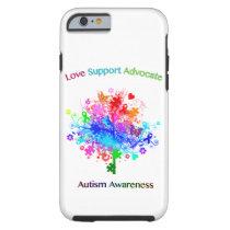 Autism Tree in Spectrum Tough iPhone 6 Case