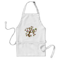 Autism Tree of Life Adult Apron