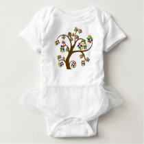 Autism Tree of Life Baby Bodysuit