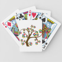 Autism Tree of Life Bicycle Playing Cards