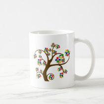 Autism Tree of Life Coffee Mug
