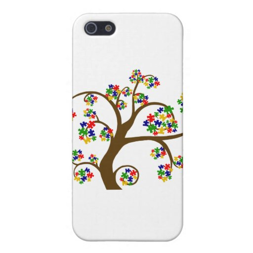 Autism Tree of Life Cover For iPhone SE/5/5s