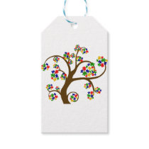 Autism Tree of Life Gift Tags