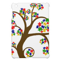 Autism Tree of Life iPad Mini Covers