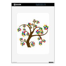 Autism Tree of Life iPad Skin