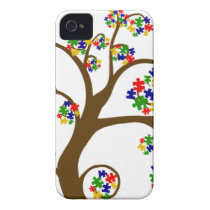 Autism Tree of Life iPhone 4 Cover