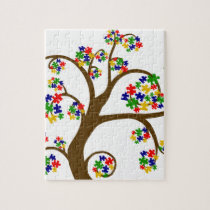 Autism Tree of Life Jigsaw Puzzle