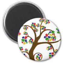 Autism Tree of Life Magnet