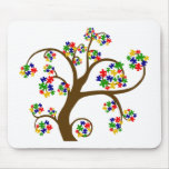 Autism Tree of Life Mouse Pad