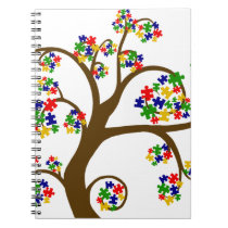 Autism Tree of Life Notebook
