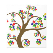 Autism Tree of Life Notepad