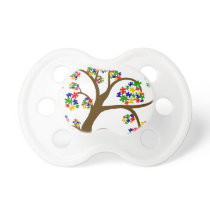 Autism Tree of Life Pacifier